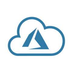 Azure SLASCONE Cloud Icon